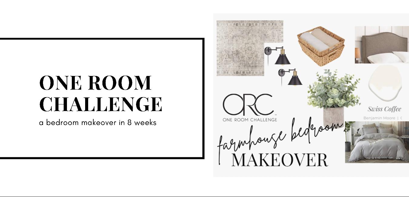 One Room Challenge: Master Bedroom Makeover