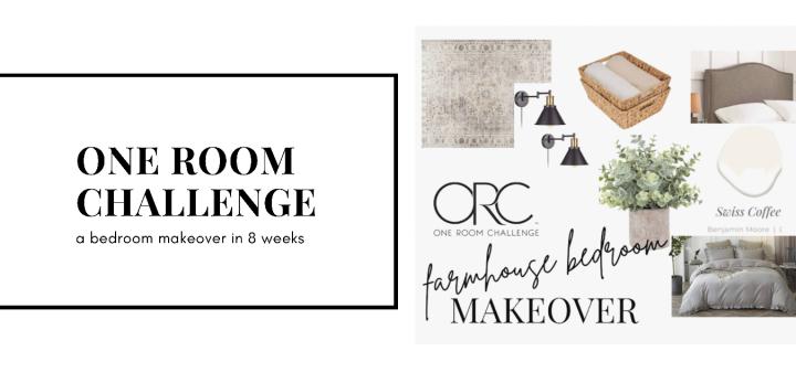 One Room Challenge: Master BedroomMakeover